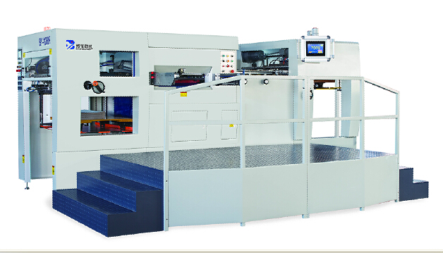 BY1080 Automatic Die-cutting and Creasing Machine